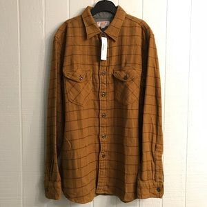 Wallace & Barnes Warm Thick Heavy Plaid Shirt